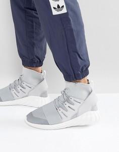 Серые зимные кроссовки adidas Originals Tubular Doom BY8701 - Серый