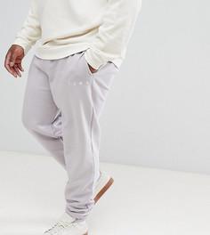 Однотонные джоггеры Puma Plus - Серый