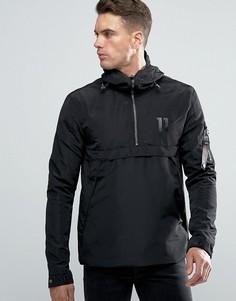 Легкая куртка через голову 11 Degrees - Черный