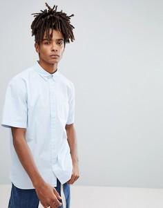 Рубашка в полоску с короткими рукавами Carhartt WIP - Синий