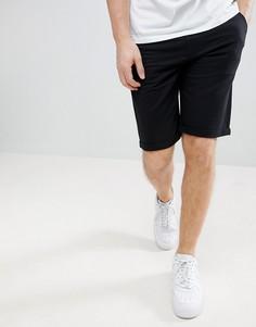 Черные трикотажные шорты узкого кроя Solid - Черный !Solid