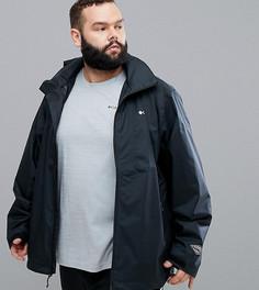 Черная непромокаемая куртка со скрытым капюшоном Columbia PLUS Inner Limits - Черный