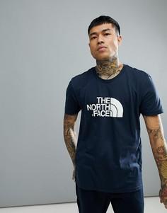 Темно-синяя футболка с принтом The North Face Easy - Темно-синий