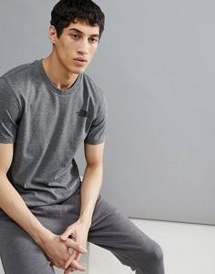 Серая меланжевая футболка The North Face - Серый