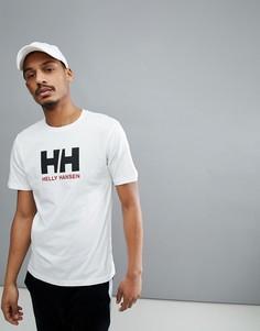 Белая футболка с логотипом Helly Hansen - Белый