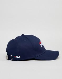 Темно-синяя бейсболка Fila Humphrey - Темно-синий