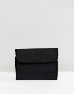 Черный бумажник в спортивном стиле Fred Perry - Черный