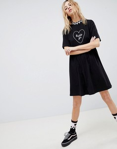 Платье Vans X Lazy Oaf Bad For You - Черный