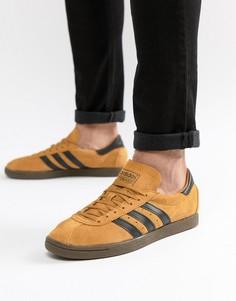 Желтые кроссовки adidas Originals Tobacco CQ2761 - Желтый