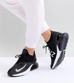 Кроссовки Nike Air Max 270 Flyknit - Черный