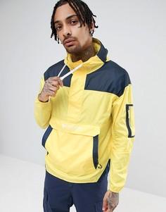 Легкая куртка без застежки с капюшоном и желтой/темно-синей отделкой Columbia - Желтый