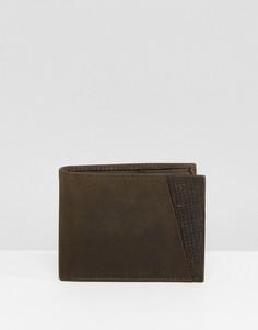 Фактурный бумажник Peter Werth - Зеленый