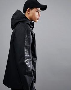 Черная куртка с логотипом на рукаве Helly Hansen Ervik - Черный