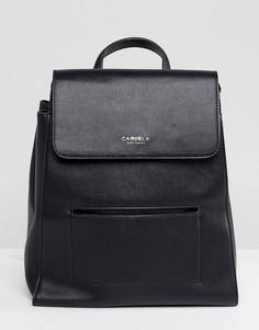 Рюкзак с карманом Carvela - Черный