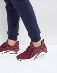 Бордовые кроссовки Certified London - Красный