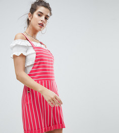 Ромпер в полоску Reclaimed Vintage Inspired - Розовый