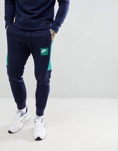 Темно-синие джоггеры Nike Air 886048-453 - Темно-синий