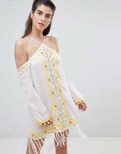 Пляжное платье River Island - Белый