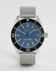 Серебристые часы BOSS By Hugo Boss 1513561 Ocean Edition - Серебряный