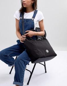 Большая сумка-тоут Calvin Klein - Черный