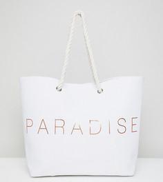 Пляжная сумка South Beach Paradise - Золотой