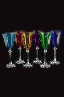Набор бокалов для вина 250 мл Crystalite Bohemia
