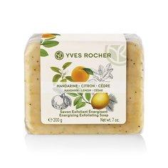 Мыло-Эксфолиант «Мандарин, Лимон & Кедр» Yves Rocher