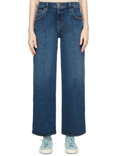 Укороченные джинсы широкого кроя Current/Elliott