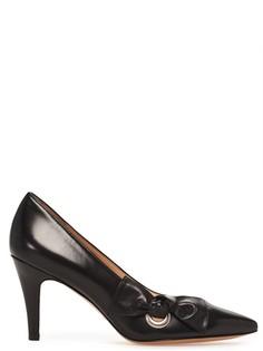 Туфли из кожи с декором Marc Jacobs