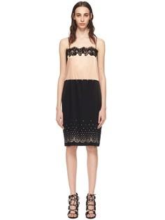 Платье в бельевом стиле с кружевной отделкой Alexander Wang