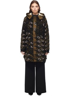 Куртка на молнии с капюшоном Self Portrait