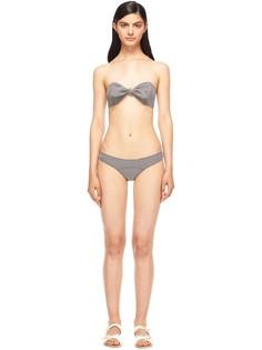 Фактурное бикини с принтом Lisa Marie Fernandez