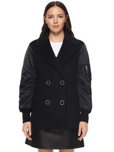 Комбинированная куртка из шерсти Alexander Wang