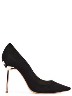 Туфли Coco Flamingo из замши с декором Sophia Webster