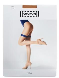 Чулки с силиконовой резинкой Wolford