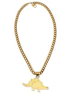 Золотистое колье с медальоном Giza