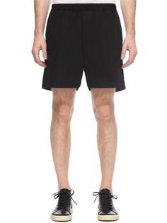 Чёрные шорты с эластичной линией пояса Rick Owens