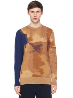 Хлопковый пуловер с круглым вырезом Etudes