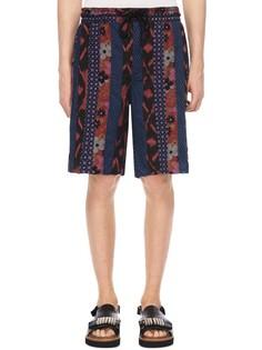 Хлопковые шорты с принтом Marc By Marc Jacobs