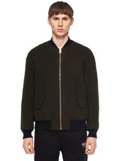 Куртка-бомбер из шерсти и кашемира Alexander Wang