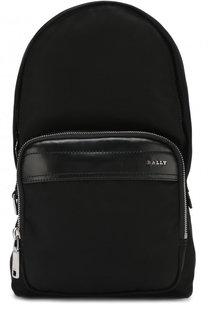 Текстильный рюкзак на одно плечо Bally
