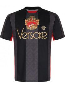 Футболка с круглым вырезом Versace