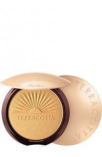 Пудра-хайлайтер Terracotta, оттенок Золотое сияние Guerlain