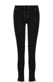 Однотонные джинсы со шнуровкой Polo Ralph Lauren