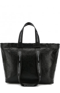 Кожаная сумка Carry Shopper L Balenciaga