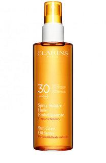 Солнцезащитное масло-спрей Spray Solaire Huile UVB 30 Clarins