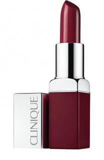 Помада для губ Pop Lip Colour + Primer, оттенок Berry Pop Clinique