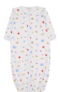 Хлопковая пижама с принтом Kissy Kissy