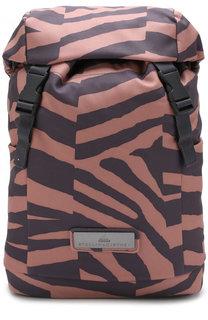 Рюкзак из текстиля с принтом Adidas by Stella McCartney