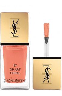Лак для ногтей La Laque Couture, оттенок 97 YSL Saint Laurent